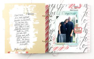 {scrappyChristmasinJuly} December DailyISH 2011 Pt 04 | Layouts 1 & 2!!!