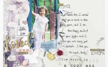 Hybrid Layout | Loved ft. On A Whimsical Adventure Wanderlust! PLUS Class Updates!!!!