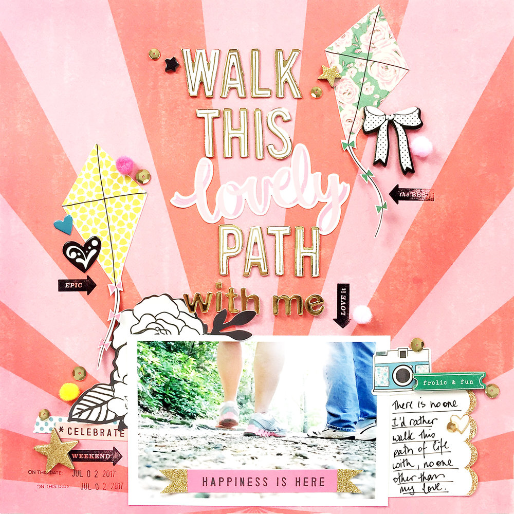Larkindesign Traditional 12x12 Layout | Walk With Me ft. Maggie Holmes Carousel!!!!!!Larkindesign Traditional 12x12 Layout | Walk With Me ft. Maggie Holmes Carousel!!!!!!