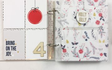 December Daily 2017 | Foundation Pages Using Sahlin Studio December!!!