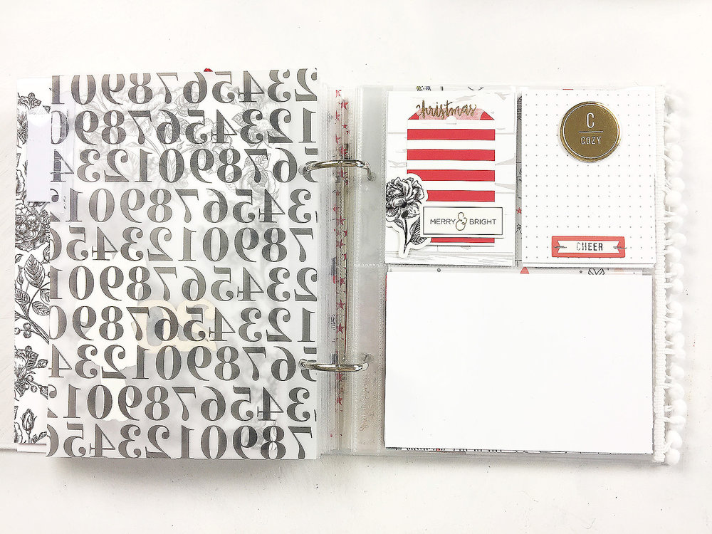 Larkindesign December Daily Album 2017 | Foundation Pages Using Felicity Jane Joy!!!!