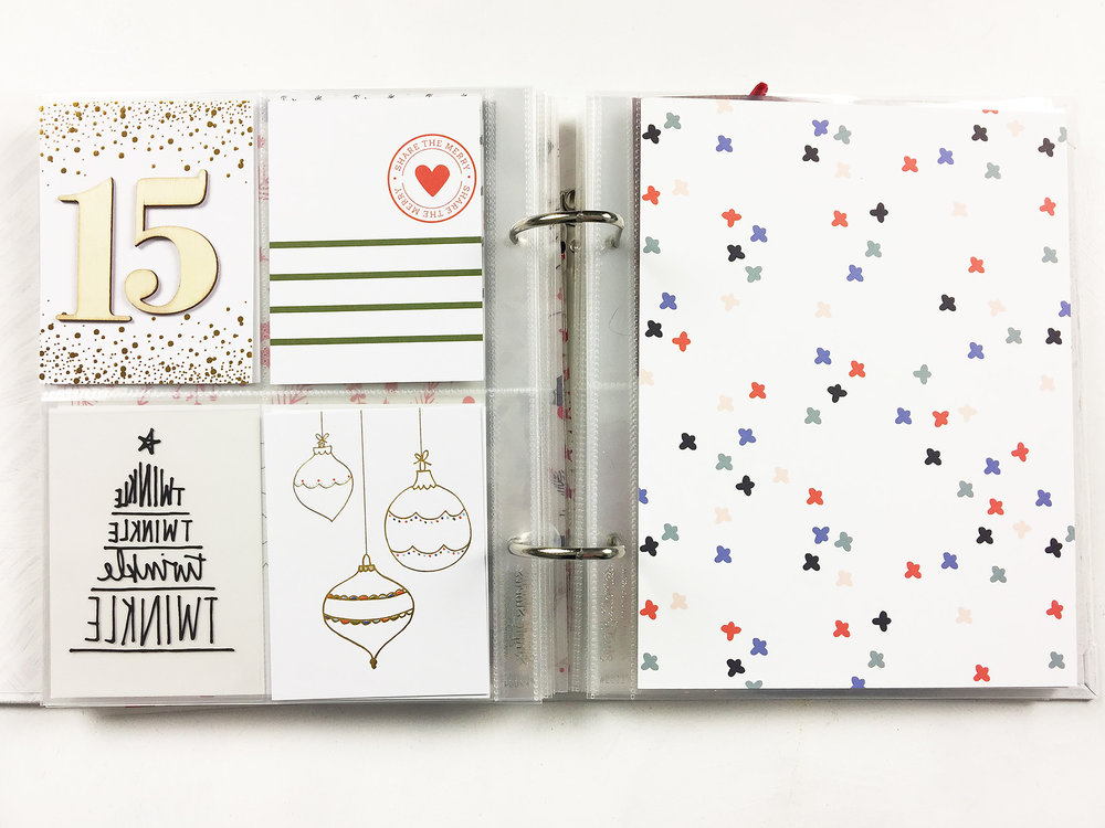 Larkindesign December Daily Album 2017 | Foundation Pages Using  Pinkfresh Studio!!!