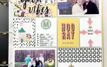 2018 Project Life Introduction Layout ft. Out With The Old and Crate Paper Good Vibes!!2018 Project Life Introduction Layout ft. Out With The Old and Crate Paper Good Vibes!!