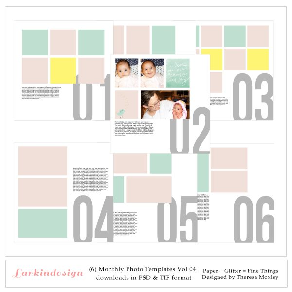 Larkindesign Photo Templates
