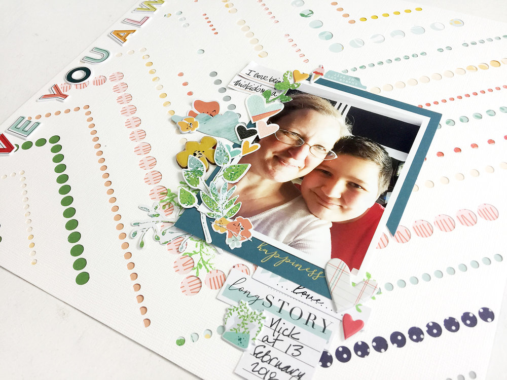 Larkindesign 50 First Layouts | Love You Always ft Pinkfresh Studio Let Your Heart Decide