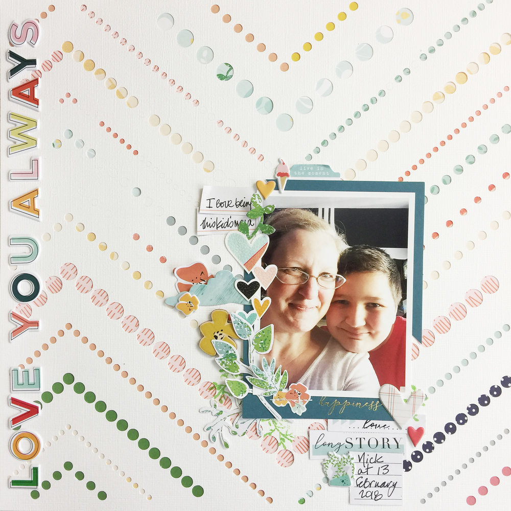 50 First Layouts | Love You Always ft Pinkfresh Studio Let Your Heart Decide