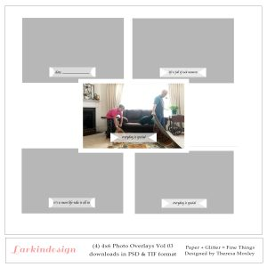 4x6 Photo Overlays Vol 03 Preview