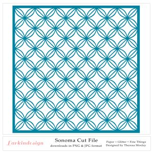 Larkindesign Sonoma Cut File