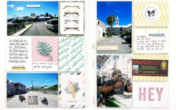 Larkindesign Bermuda Honeymoon Album