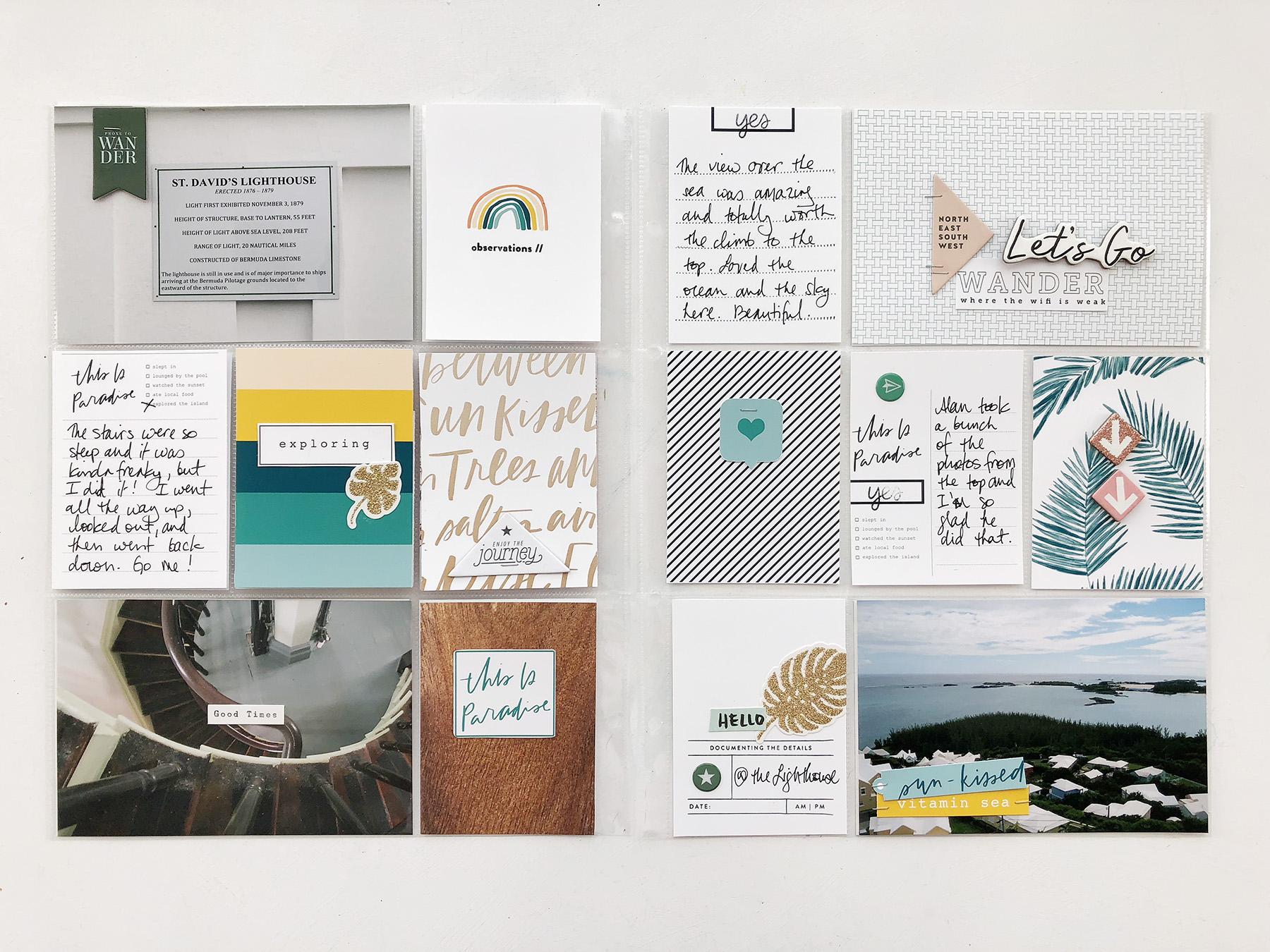 Larkindesign Bermuda Honeymoon Album | ft. Paislee Press Aloha