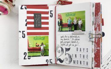 Larkindesign Documenting December In A Traveler's Notebook | November Layouts!!!