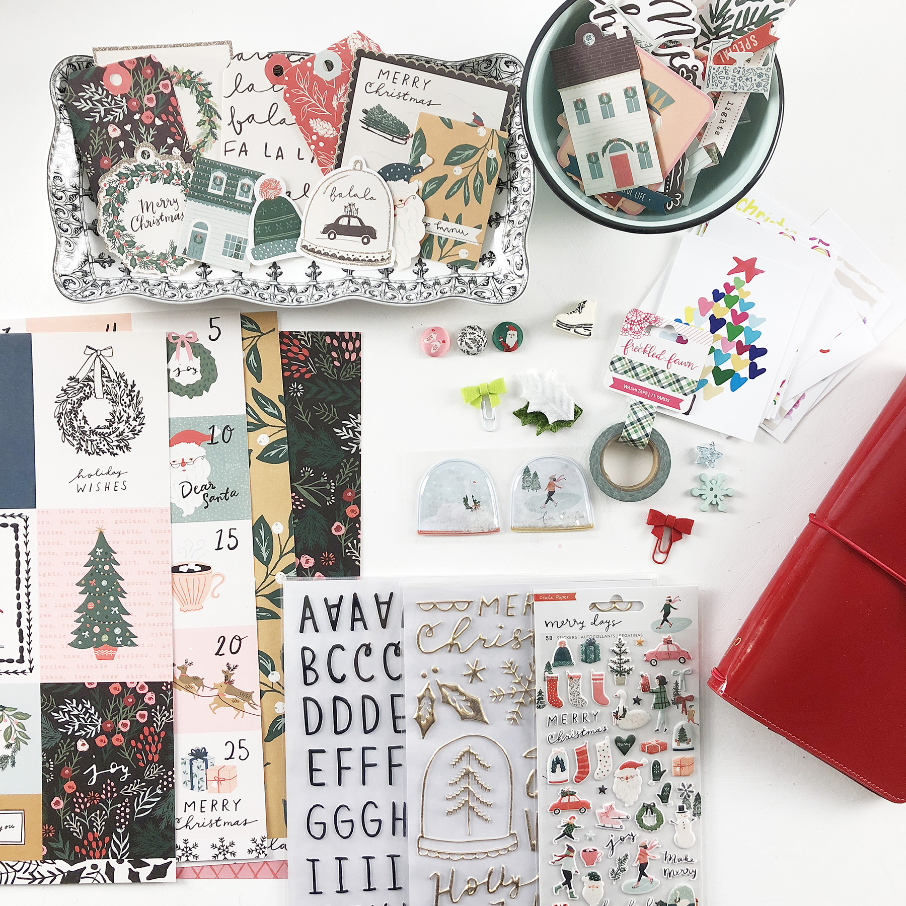 December Daily 2018 Clique Kits Hipster Holiday Kit Unboxing!