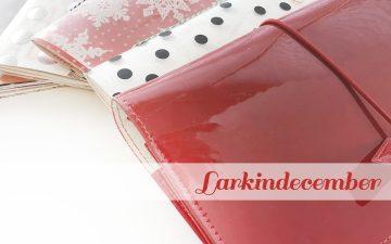 Larkindecember Documenting December In A Traveler's Notebook | Creating the Notebooks 01