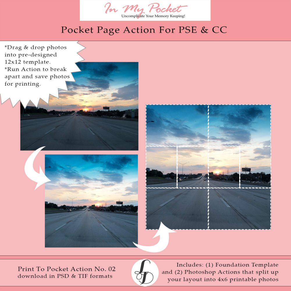 Larkindesign Print-To-Pocket Action No. 02