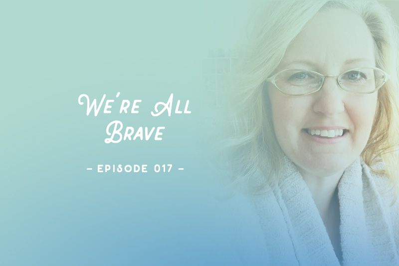 Simple Scrapper Podcast Epsiode 17 | Be Brave With Theresa Moxley