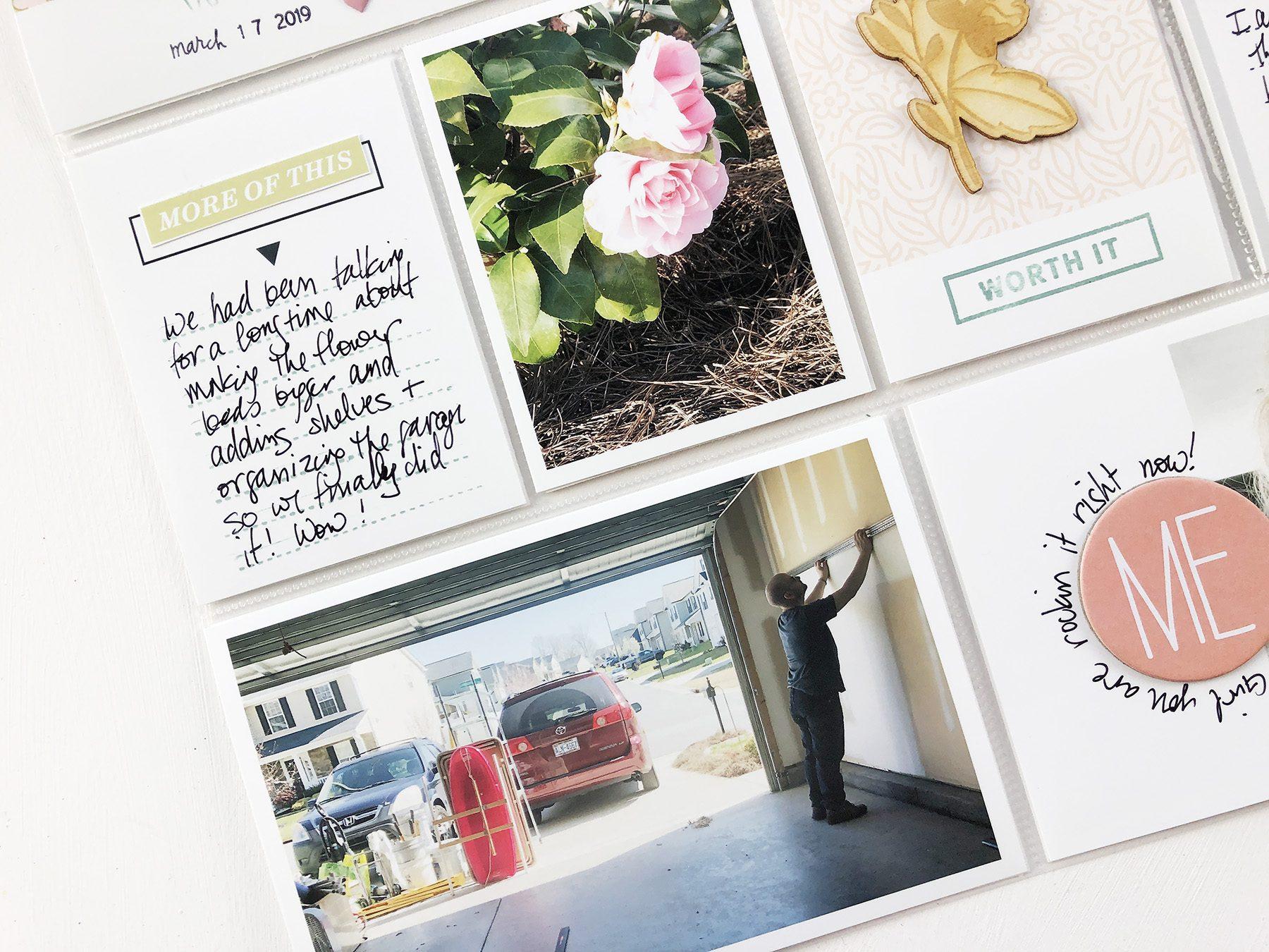 Larkindesign ***Sahlin Studio*** Design Team   2019 Project Life Weeks 12 and 13