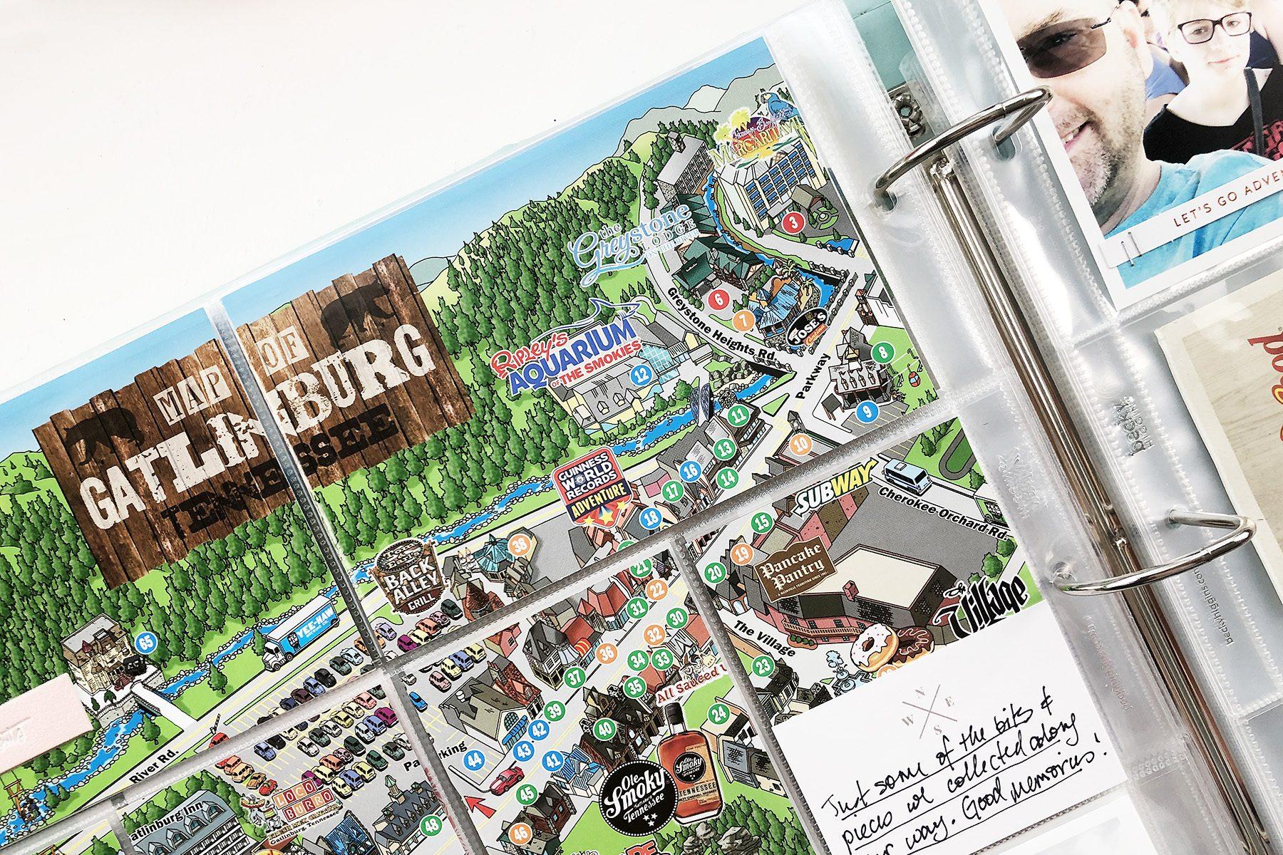 Larkindesign Including Ephemera In Project Life | Gatlinburg 2019 Part 04!!!