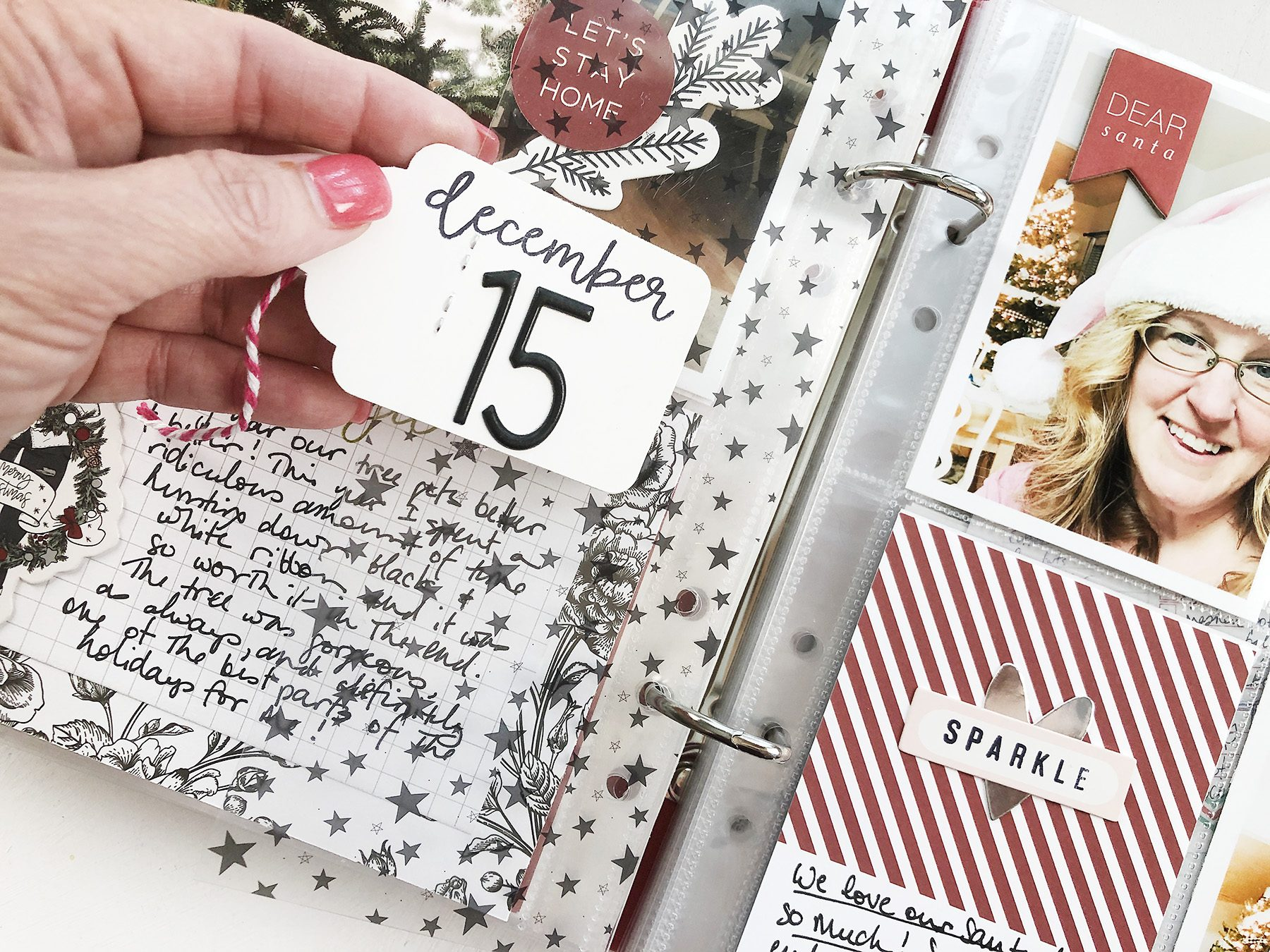 Larkindesign Crafty Christmas In July | December Daily 2018 Days 14 and 15!!!!