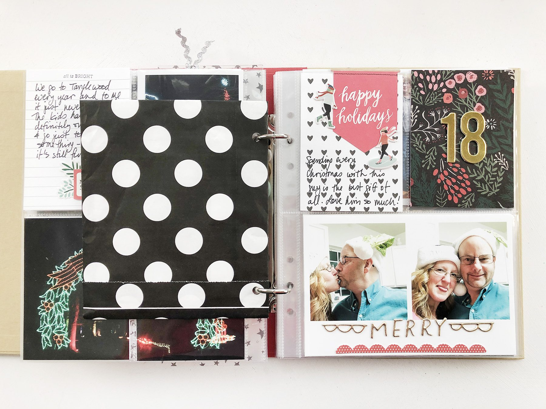 Larkindesign Scrappy Christmas In July | December Daily 2018 Days 16 Through 18!!!