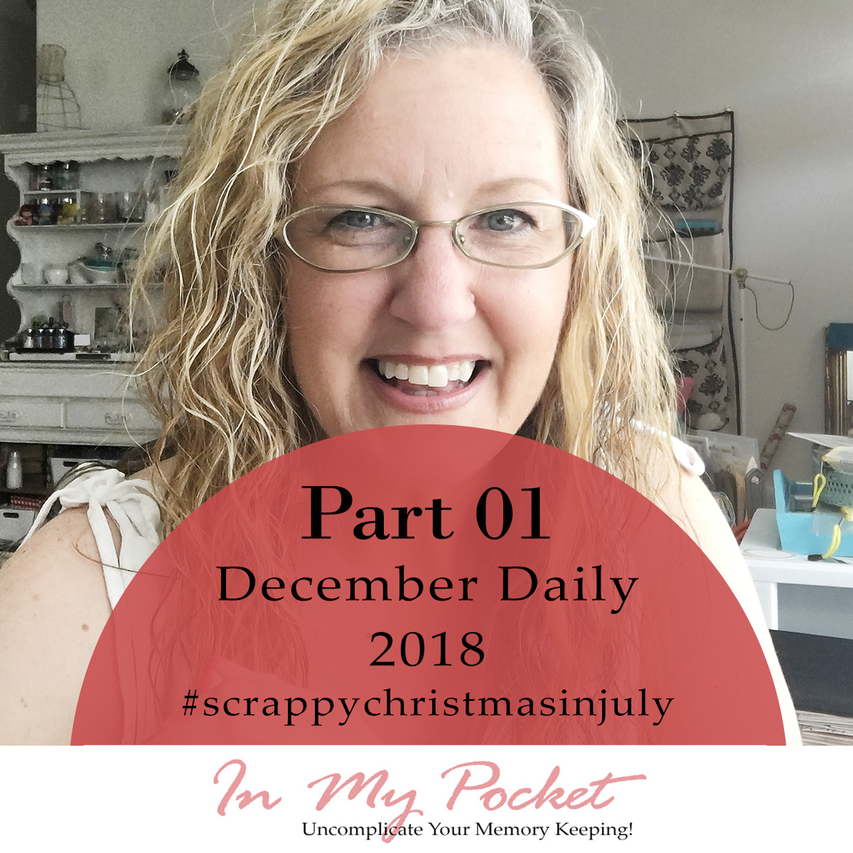 Larkindesign #scrappychristmasinjuly | Introduction to my December Daily 2018!!!