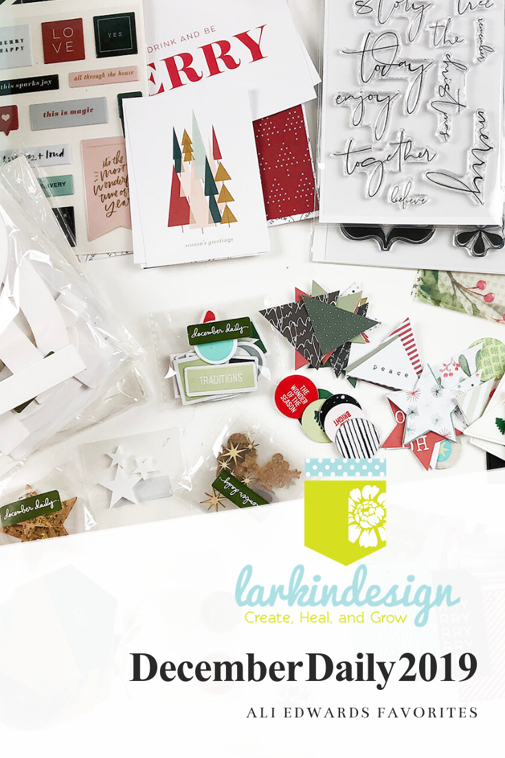 Larkindesign December Daily 2019 My Personal Ali Edwards Favorites