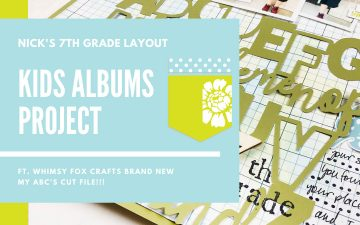 Kids Albums Project | Nicks First Day Of Seventh Grade