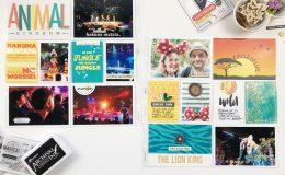 Larkindesign Disney 2020 Album | Animal Kingdom Lion King | ft Project Mouse Animal