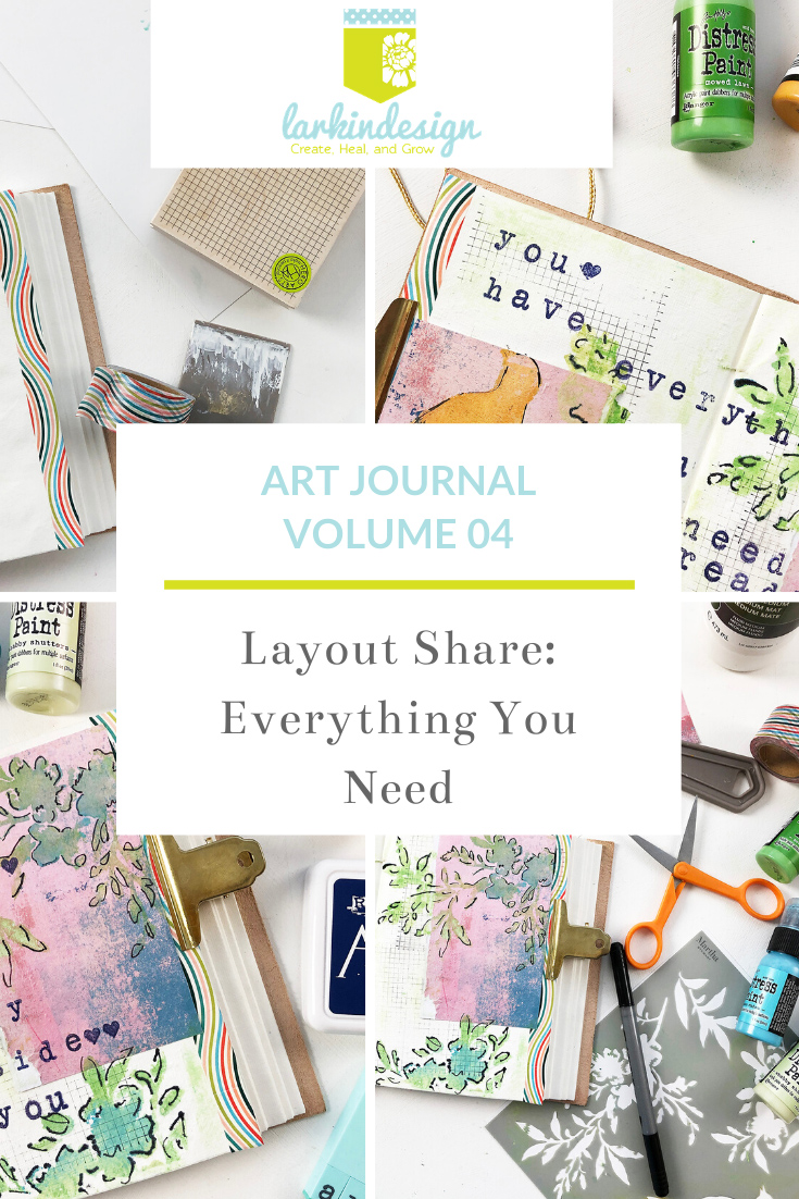 Larkindesign Art Journal Volume 04 Layout | Everything You Need