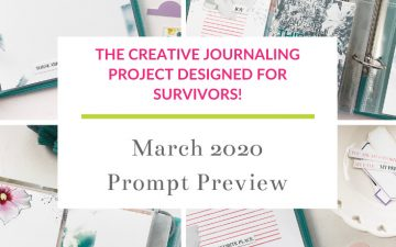 Light The Path March 2020 | Prompt Previews