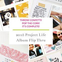 Larkindesign Project Life 2019 Full Album Flip Through