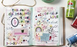 Light The Path Art Journal Volume 04 | The Path Of Healing ft Pinkfresh Studio
