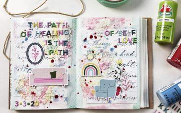 Light The Path Art Journal Volume 04 | The Path Of Healing ft Pinkfresh Studio