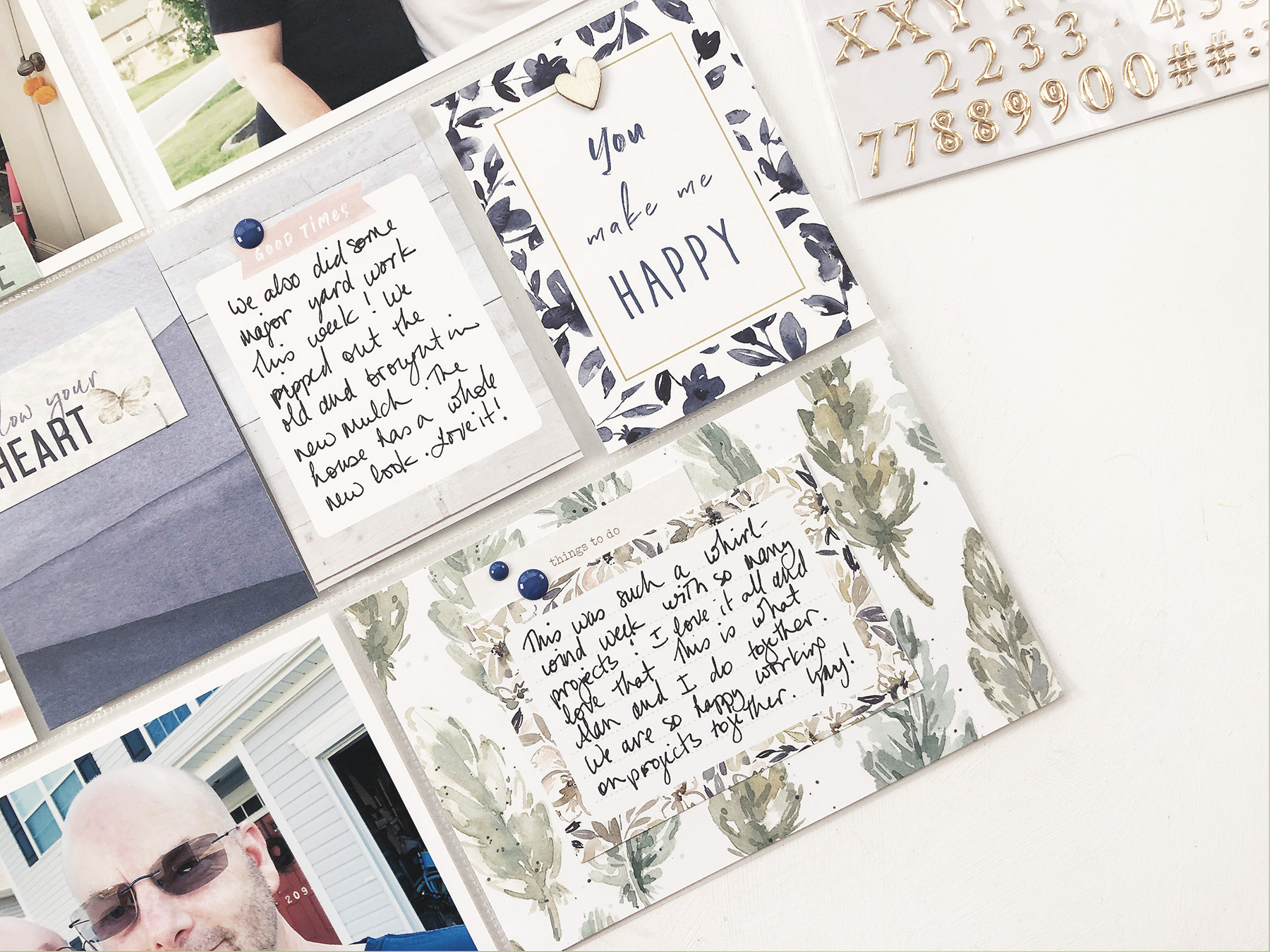 Larkindesign Using Tradition Products In Project Life 2019   September Bi Monthly Layout 01