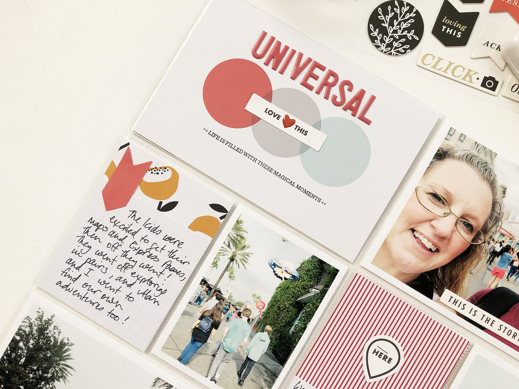 Larkindesign Disney 2020 Album | Documenting Universal Studio | Ft Project Life Click