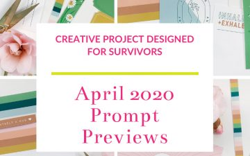 Light The Path April 2020 Prompt Previews
