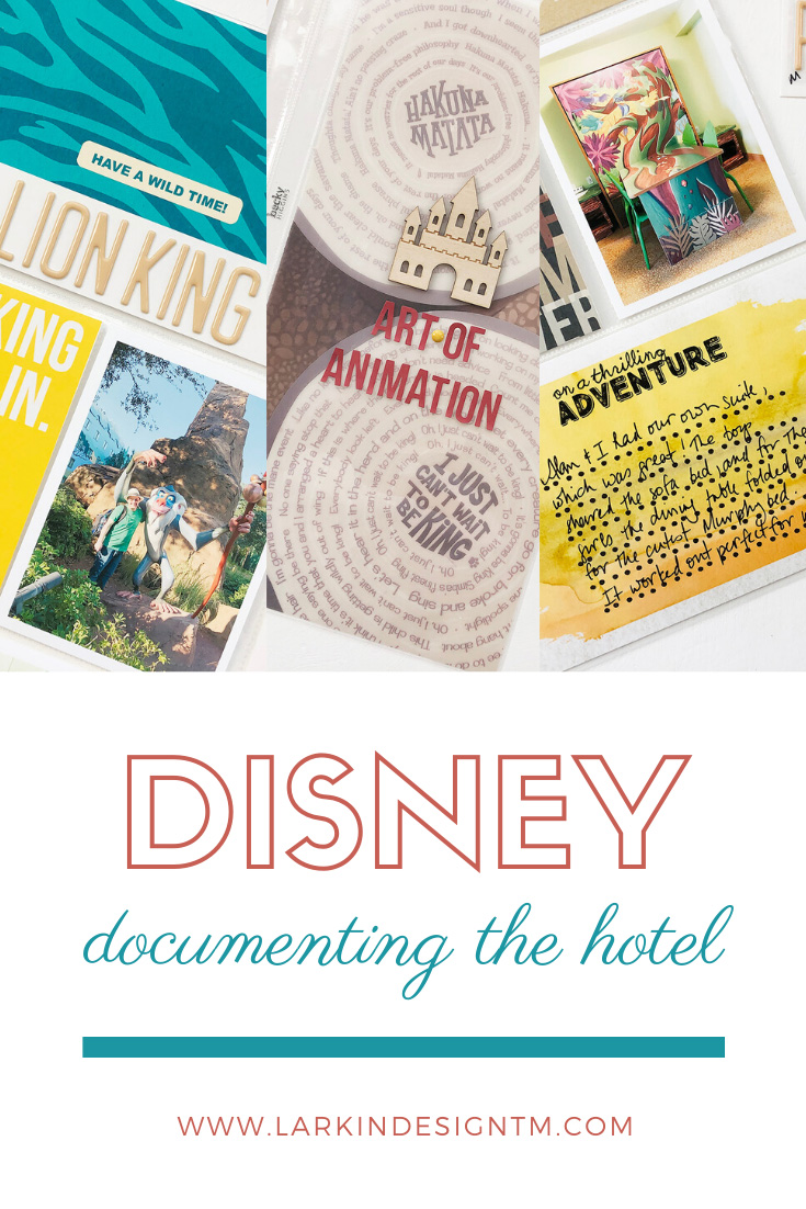 Larkindesign Disney 2020 Documenting Our Hotel | Art Of Animation Ft Project Mouse Animal
