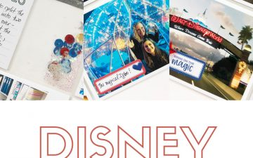 Larkindesign Disney 2020 Album | Documenting Our Drive | Ft Elle's Studio Magical Memories
