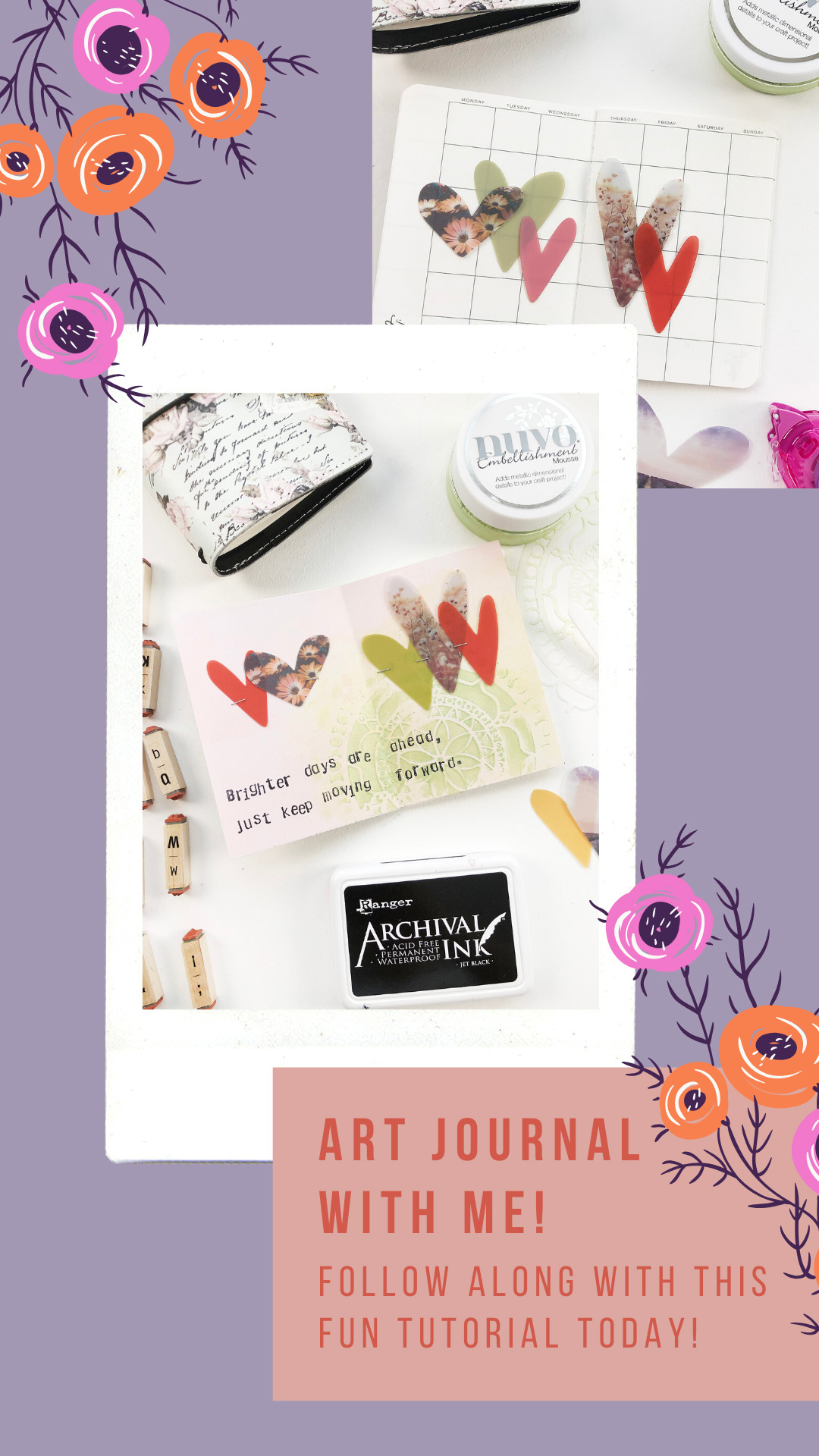 Larkindesign Art Journal Journal With Me Volume 05 | Brighter Days