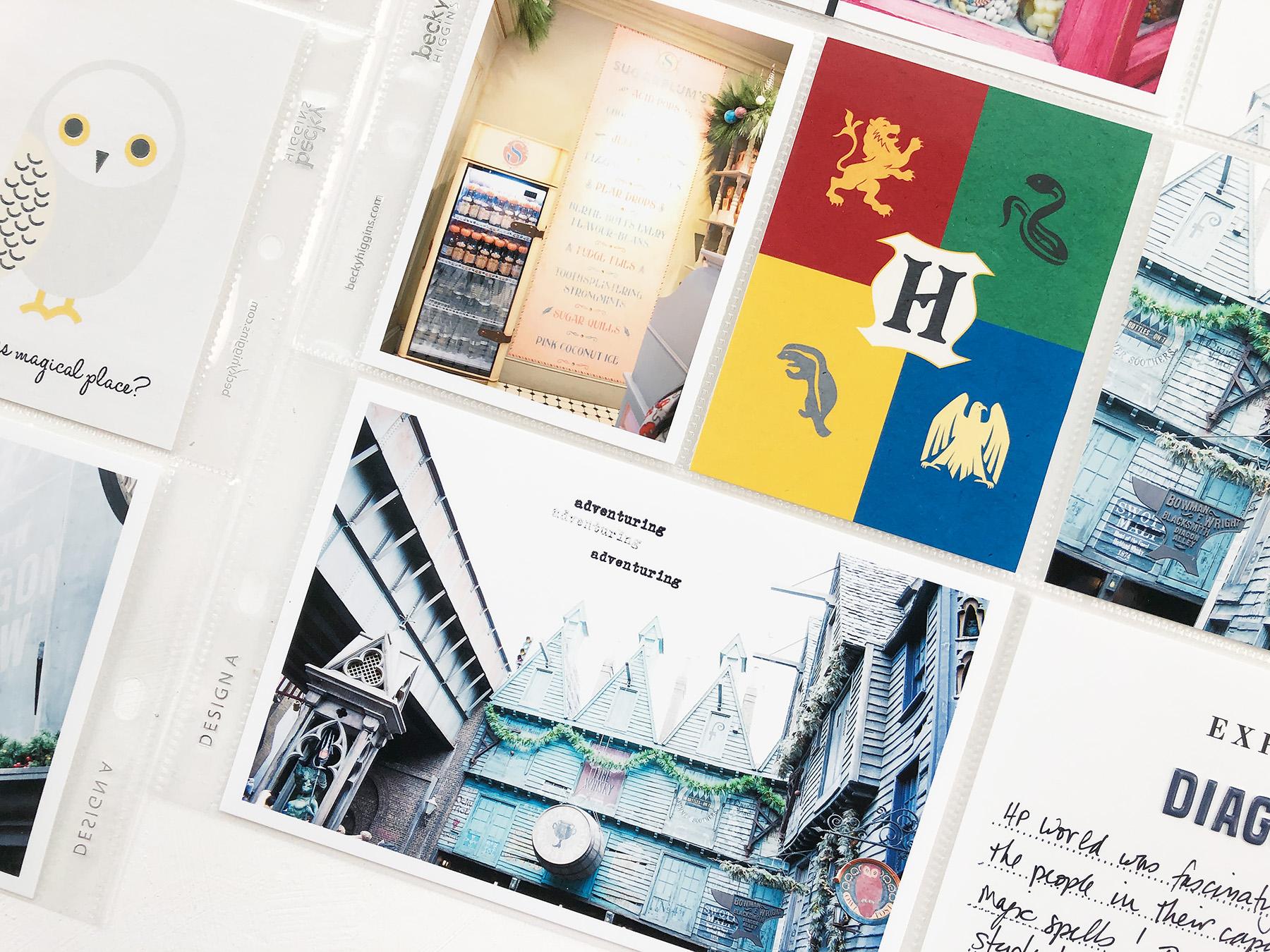 Larkindesign Disney 2020 Album | Documenting Harry Potter Diagon Alley at Universal