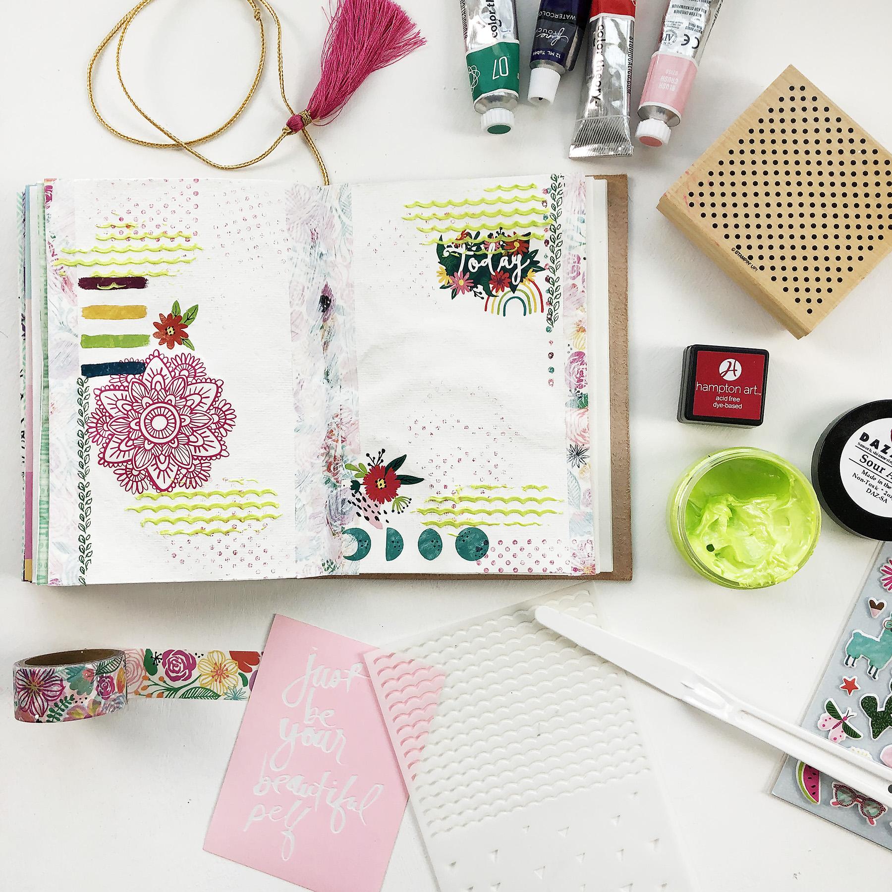 Larkindesign Art Journal Volume 04 | Your Beautiful Self