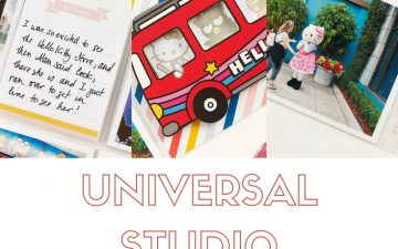 Larkindesign Disney 2020 Album | Documenting Universal | Meeting Hello Kitty