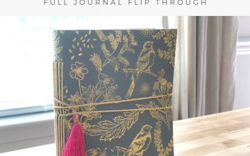 Larkindesign Art Journal Volume 04 | Final Journal Flip Thru