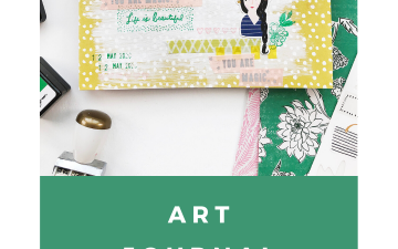 Larkindesign Art Journal With Me Volume 05 | Life Is Beautiful