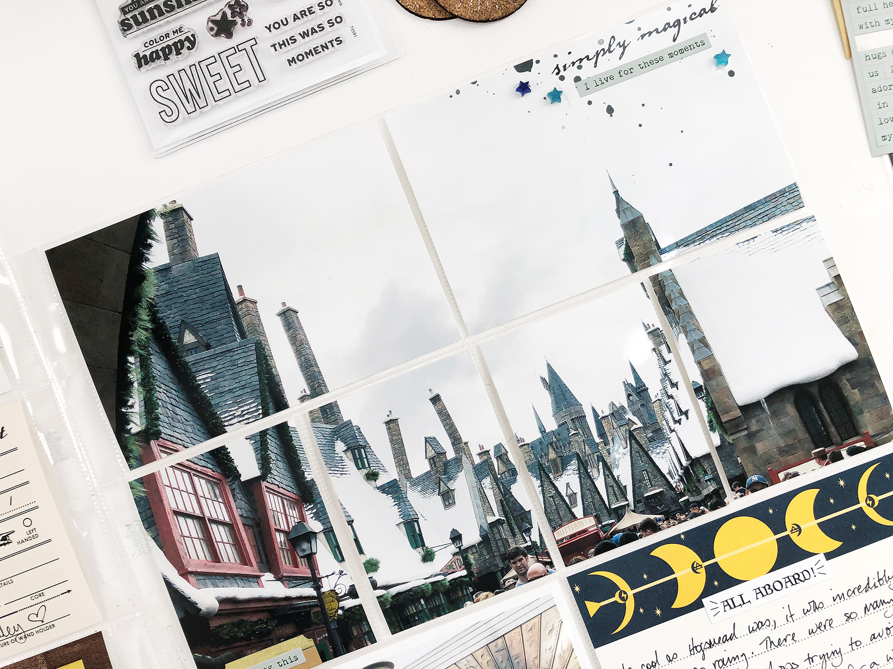 Larkindesign In My Pocket Disney Album Edition | Documenting Universal Hogsmead