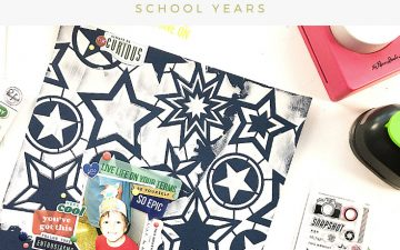 Kids Scrapbook Albums Project | Nick's Last Day of First Grade