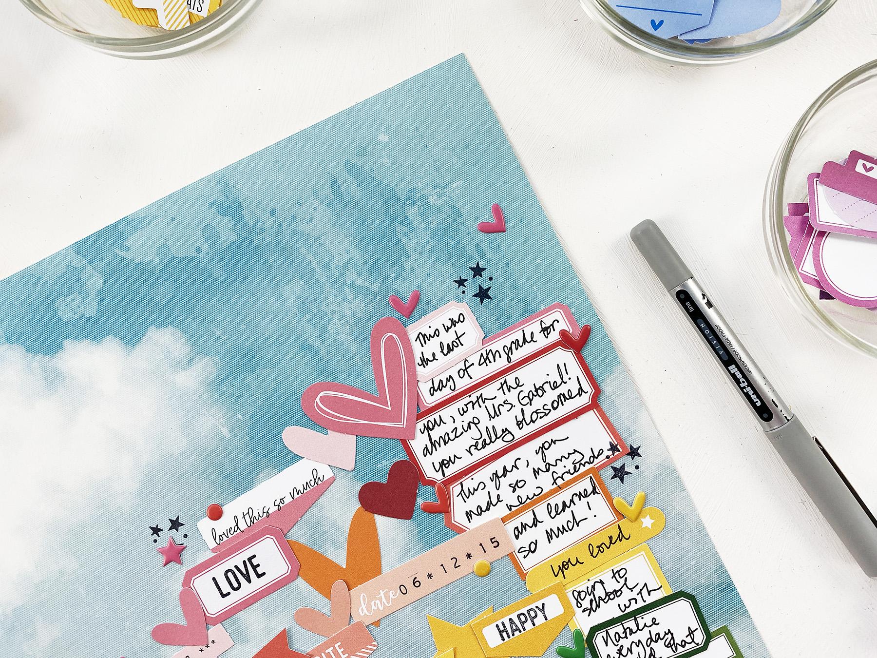 Larkindesign Scrapbook Your Kids | Embelynn's Last Day of 4th Grade