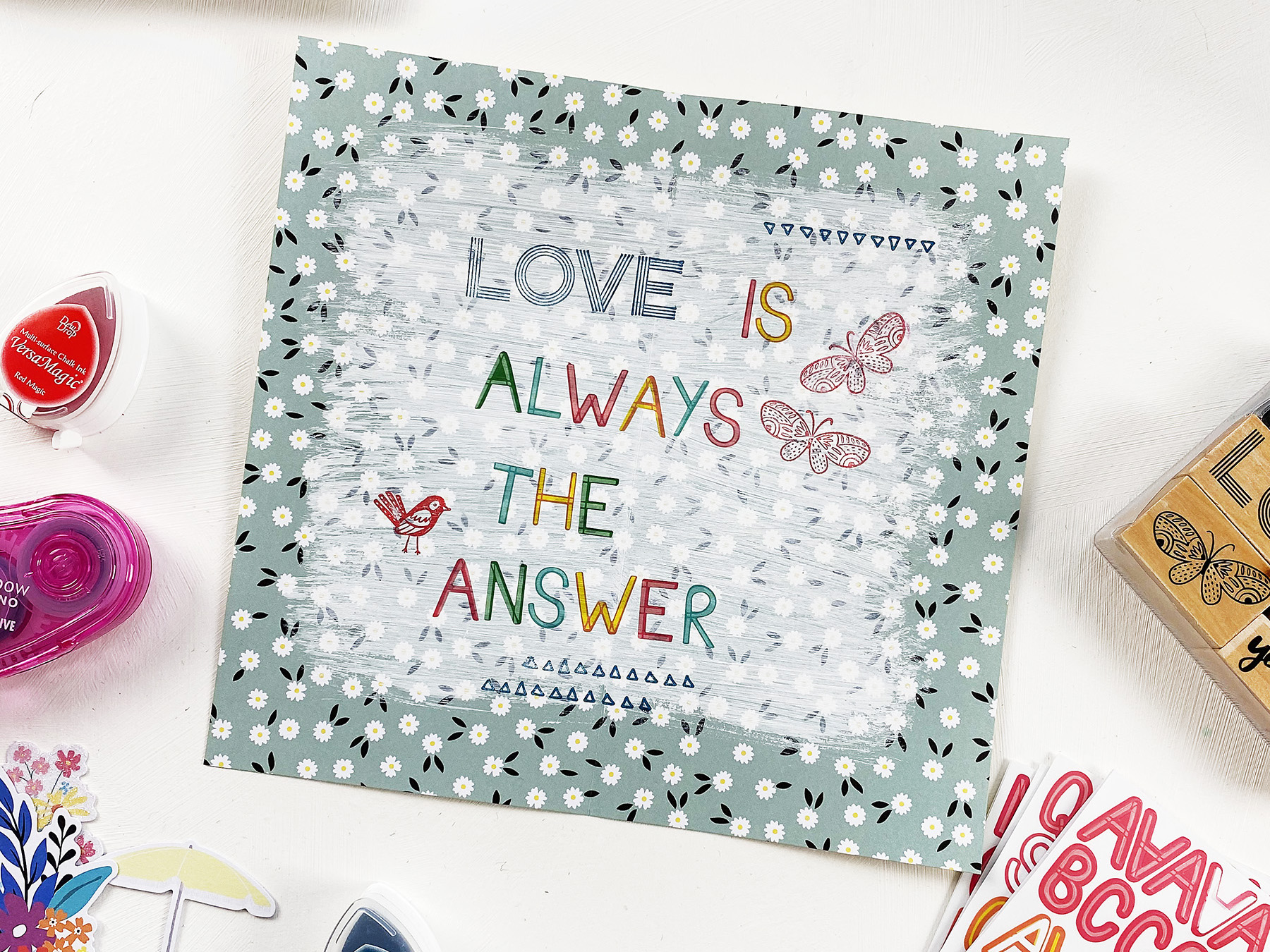 Light The Path Art Journal With Me | Love Is Always The Answer
