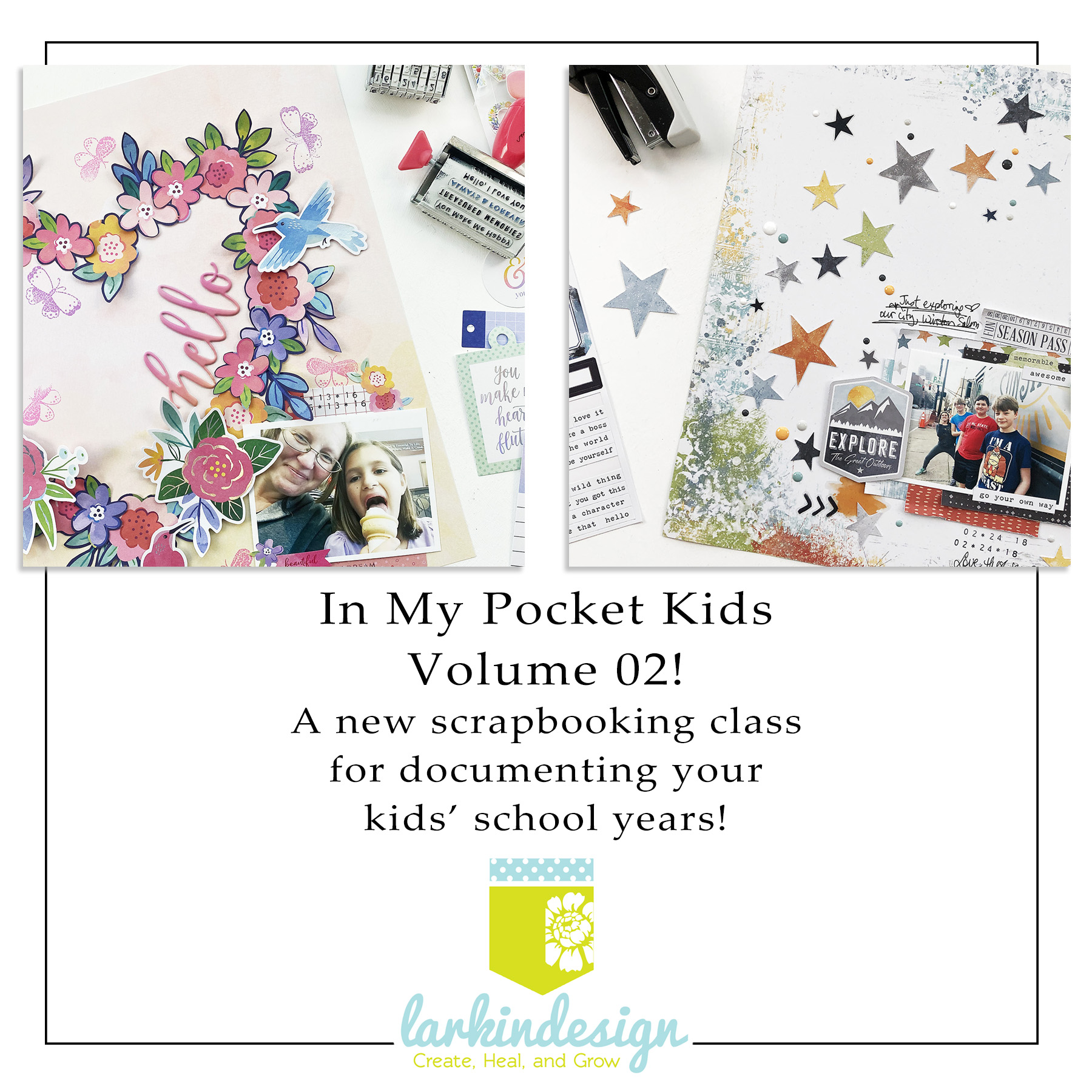 In My Pocket Kids Volume 02 Memory Keeping Class