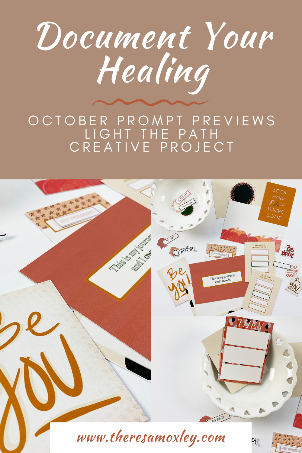 Light The Path October Prompt Previews!