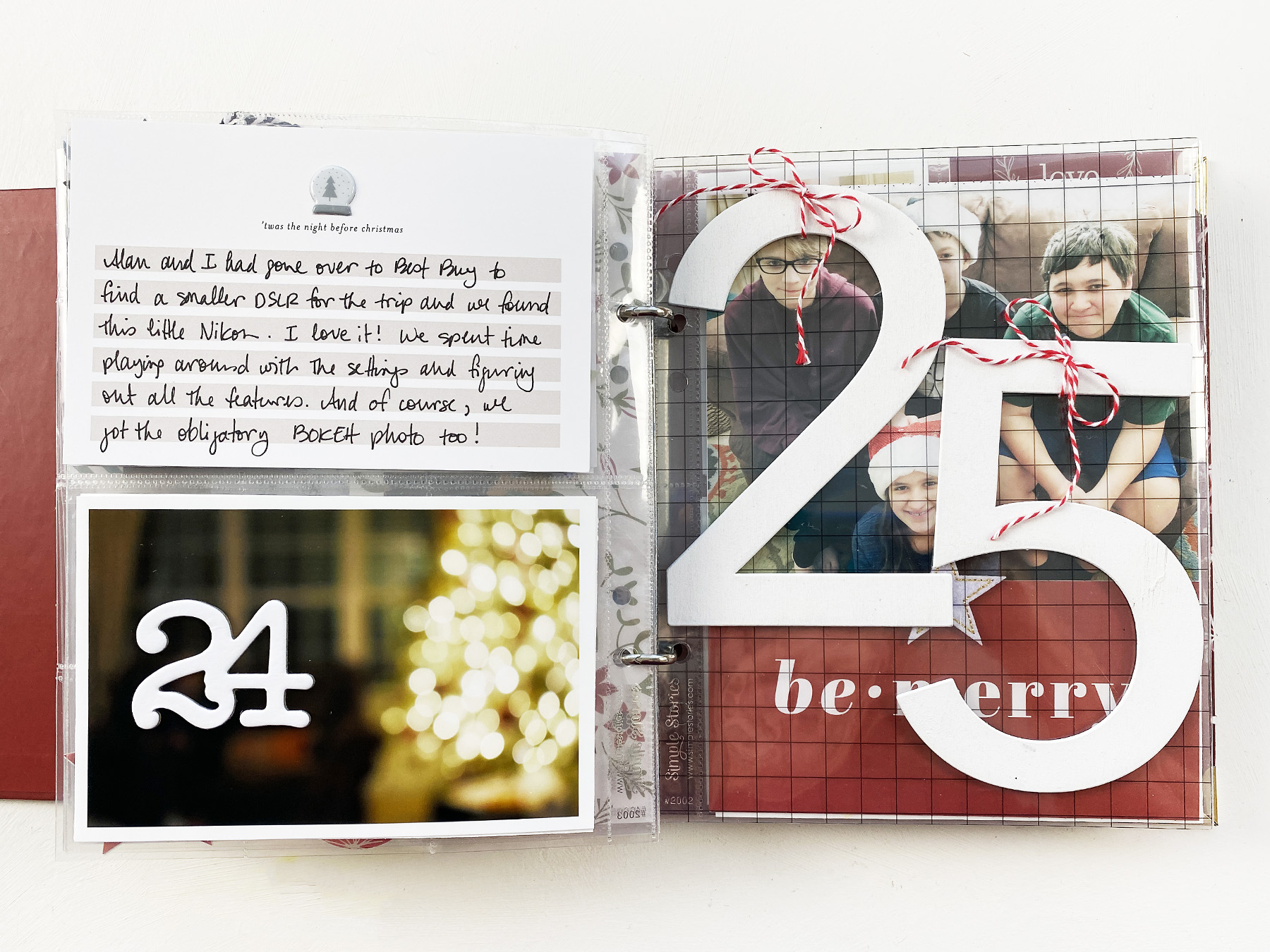 Theresa Moxley December Daily 2019 | Days 23 Thru 25 Finishing Up!